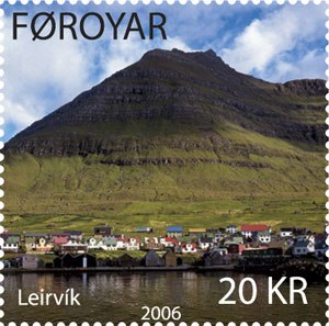 Leirvík - Faroese stamp FO 551 issued 13 February 2006