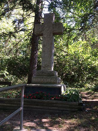 Claude-Jean Allouez - Memorial in Niles, Michigan.