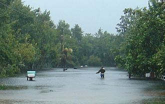 Tropical Storm Fay (2008) - Flooding in east-central Florida