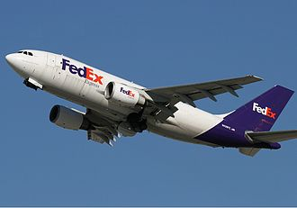 Airbus A310 - FedEx Express A310-200F without wingtip fences