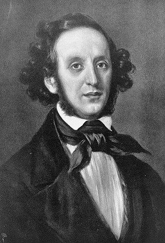 Antigone (Mendelssohn) - Image: Felix Mendelssohn Bartholdy by Eduard Magnus