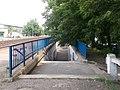 Felsőgöd megállóhely, aluljáró, Vasút utcai oldal, 2020 Göd.jpg