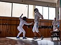 Fencing in Greece. Athenaikos Fencing Club. Epee.jpg