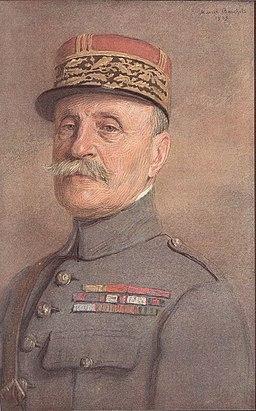 Ferdinand Foch Marcel Baschet 1925
