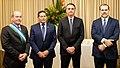 Fernando Azevedo e Silva, Hamilton Mourão, Jair Bolsonaro e Dias Toffoli.jpg