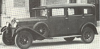 Fiat 521 - Image: Fiat 521 Weymann Sedan 1928