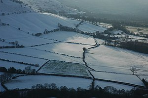 Fields around Gwernyfed - geograph.org.uk - 1651710.jpg