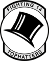 Fighter Squadron 14 (US Navy) insignia c1968.png