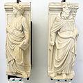 Filippo solari e andrea da carona, san filippo e sant'antonio abate, 1428 ca. 01.JPG