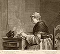 Filloeul - Chardin - Dame prenant son thépie.jpg