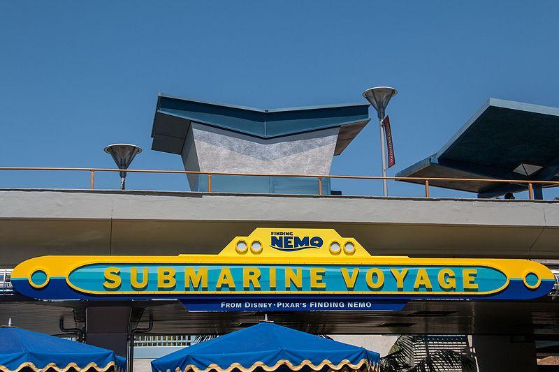 Parque do Nemo na Califórnia