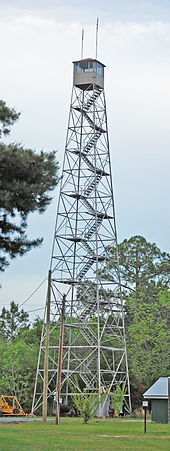 Fire lookout tower - Wikipedia