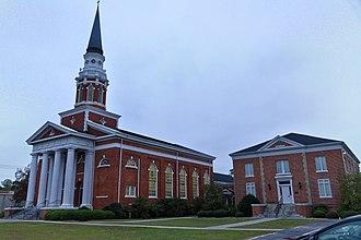 First Baptist Church (Darlington, South Carolina) - Image: First Baptist Church, Darlington, SC, US