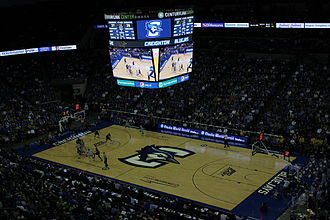 Creighton Bluejays men's basketball - Image: First Big East Game