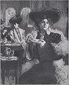 Five o'clock, par Pierre Georges Jeanniot (1904) - noir et blanc.jpg