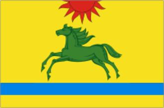 Argayashsky District - Image: Flag of Argayash rayon (Chelyabinsk oblast)