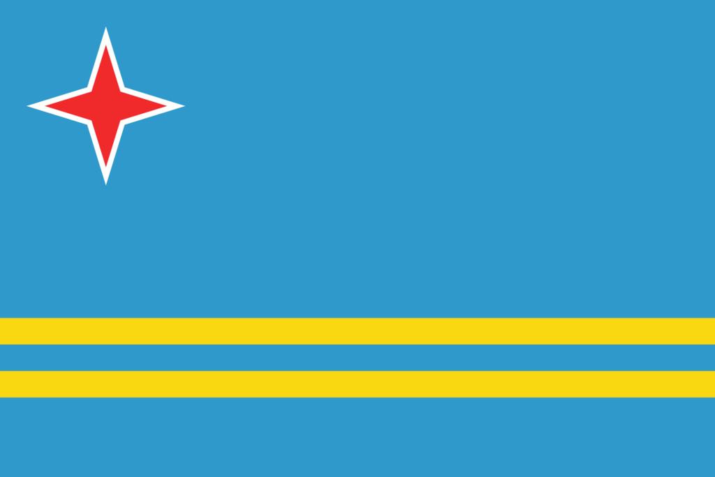 Aruba Flag Vector