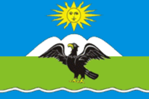 Ozyorsky District, Kaliningrad Oblast - Image: Flag of Ozyorsky rayon (Kaliningrad oblast)