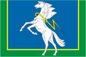 Sosnovsky District, Chelyabinsk Oblast - Image: Flag of Sosnovsky rayon (Chelyabinsk oblast)