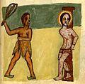 Flagellation du Christ BnF Éthiopien d'Abbadie 114 fol. 96.jpg