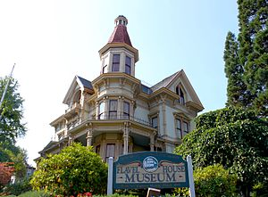 George Flavel - The Flavel residence in Astoria operates as a museum