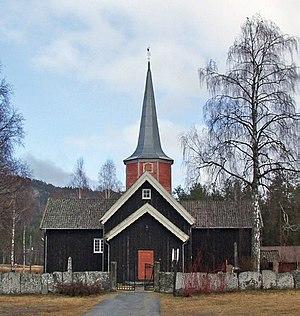 Flesberg - Flesberg Stave Church
