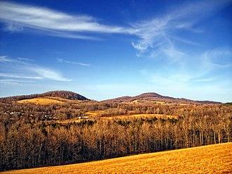Herrick Township, Susquehanna County, Pennsylvania - Elk Hill