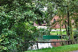 Flickr - ronsaunders47 - VILLAGE POND IN CROFT. WARRINGTON CHESHIRE UK..jpg