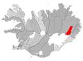 Fljotsdalshreppur map.png