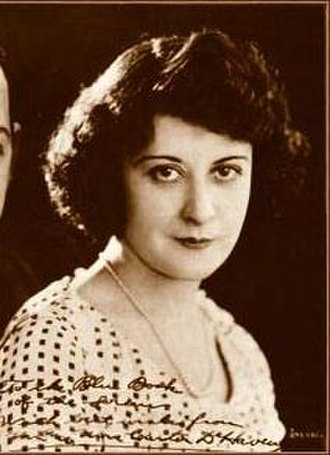 Flora Parker DeHaven - from The Blue Book of the Screen
