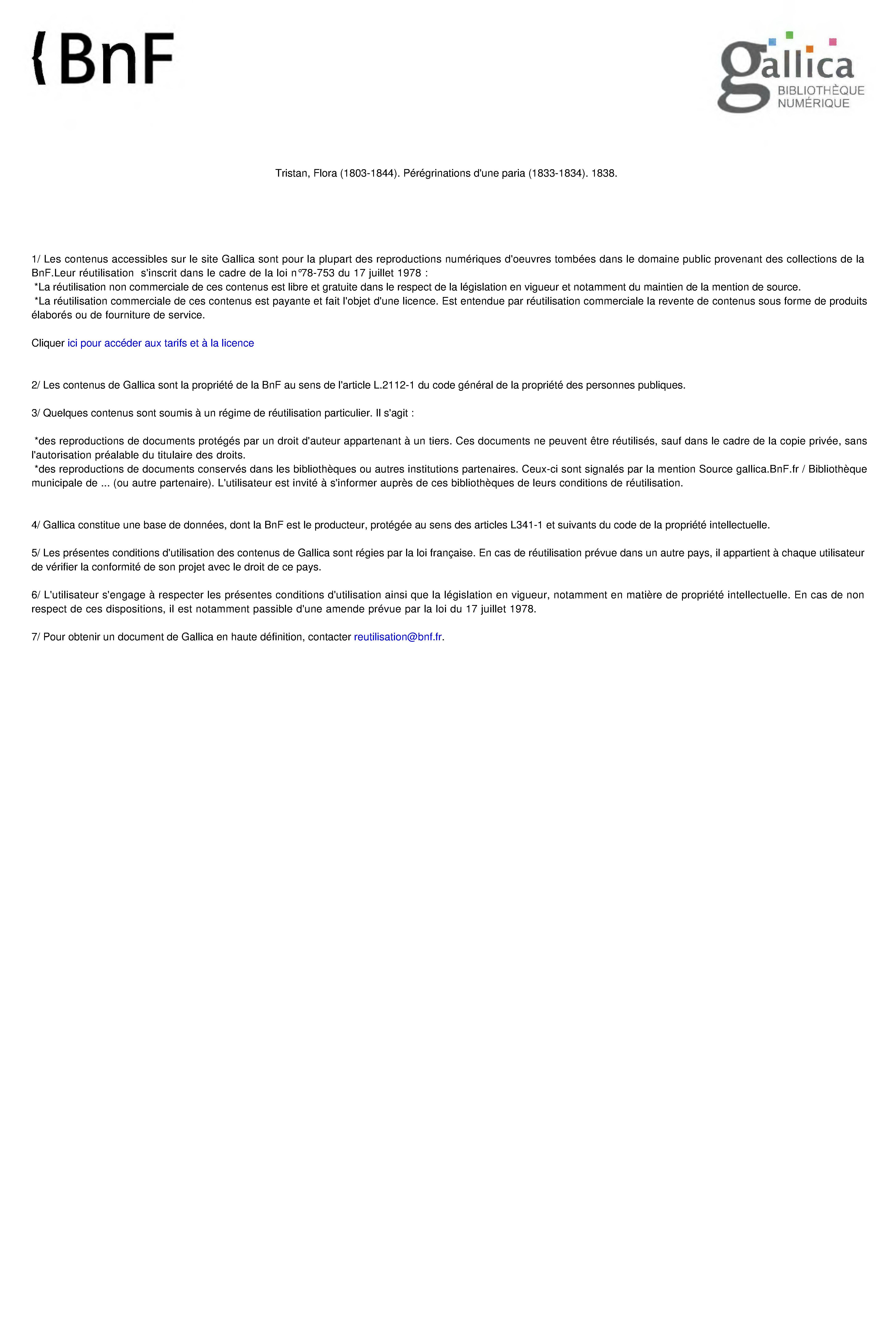 5e26b83ecc210 Fichier:Flora Tristan - Peregrinations d une paria, 1838, II.djvu ...