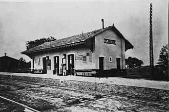 Buenos Aires Western Railway - La Floresta (c. 1869) was the first terminus.