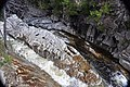 Flume Falls (West Branch of the AuSable River) (Wilmington Flume, Adirondack Mountains, New York State, USA) 4 (19480547554).jpg