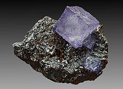 Fluorite and sphalerite J1