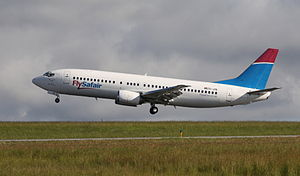 FlySafair - FlySafair Boeing 737-400 ZS-JRE at George Airport