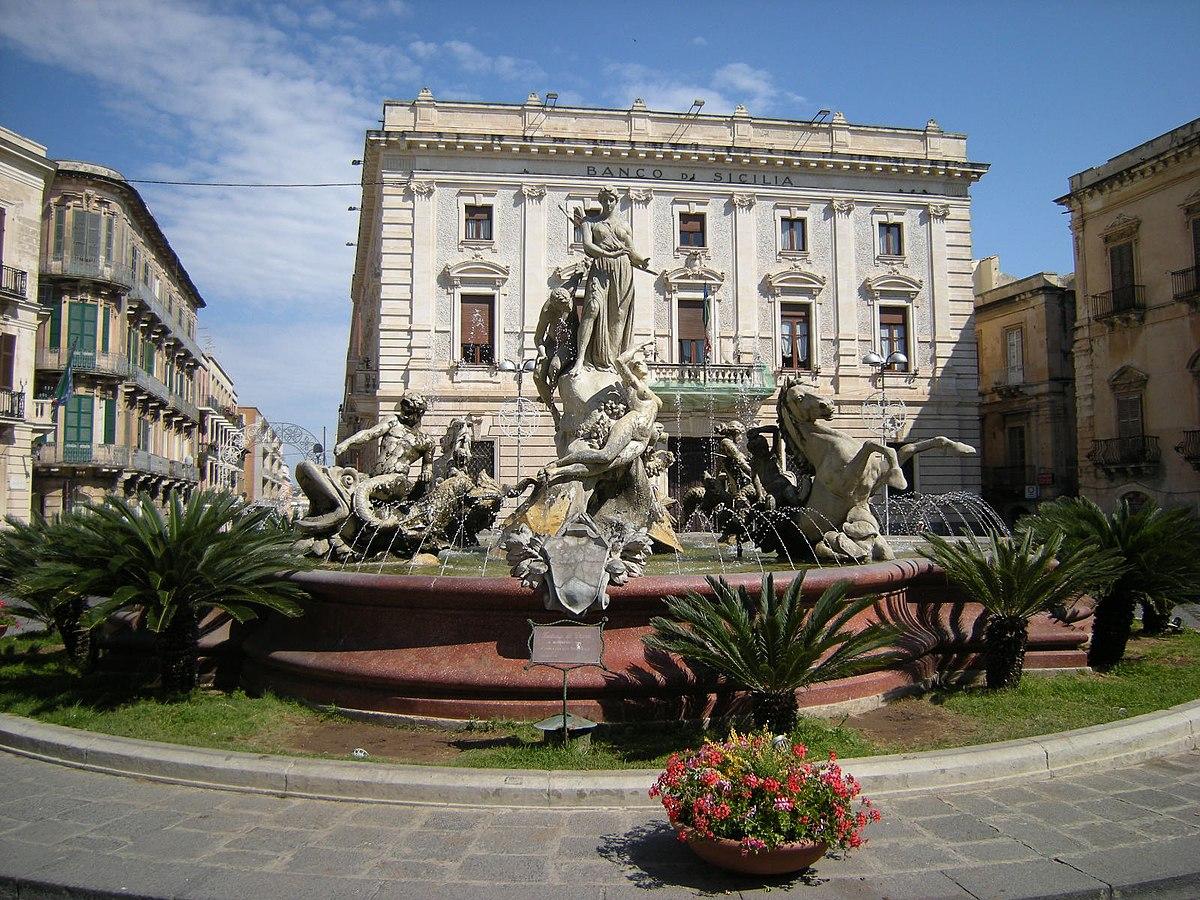 Fontana di diana wikipedia for A archimede