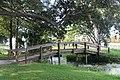 Foot bridge at John S Taylor Park Largo Florida.JPG
