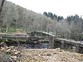 Footbridge over Lewis Burn - geograph.org.uk - 1245115.jpg