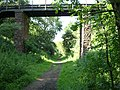 Footbridge over Merelake Way - geograph.org.uk - 193976.jpg