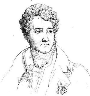 Louis Nicolas Philippe Auguste de Forbin - Louis Nicolas Philippe Auguste de Forbin engraved by J.M.N. Frémy after a portrait by Paulin Guérin, 1817
