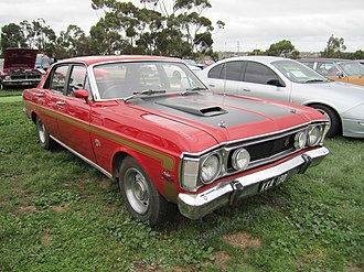 Ford Falcon GT - Image: Ford Falcon XW GT Track Red
