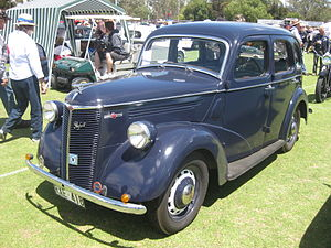 Ford Prefect - Ford Prefect E03A 4 door Saloon