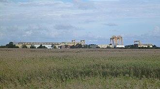 Forgacs Shipyard - Image: Forgacs shipyard Tomago 02 from Pacific Highway 20150412