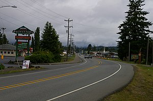 Forks, Washington - Forks, Washington from south end