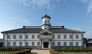 Giyōfū architecture - Former Kaichi school building (1876), an example of giyōfū architecture.