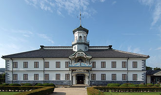 Japanese architecture - Kaichi Primary School, Matsumoto, built in 1876