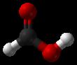 3D model of formic acid