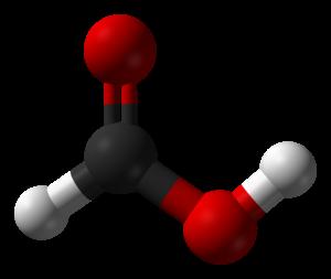 Formic acid - Image: Formic acid CRC MW 3D balls