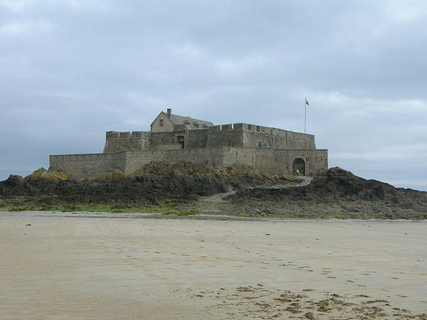 Fort national fort national is a fort on a tidal island a few hundred