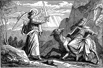 An Angel Met Balaam with a Sword (illustration...
